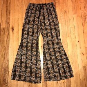 Flare Chiffon Pants